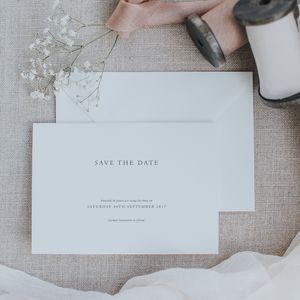 Elegance Save The Date - save the date cards