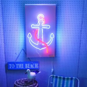 Anchor Neon Light Sign