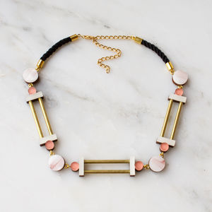 Column Collar Necklace