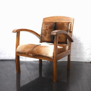 Goat Hide Arm Chair - armchairs