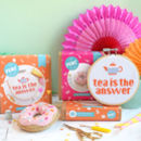 Tea Time Craft Kit Gift Set
