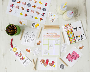 Personalised Farm Activity Bundle