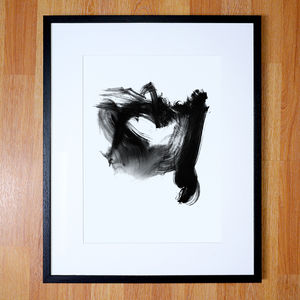 Abstract Gestural Brushstrokes - new in prints & art