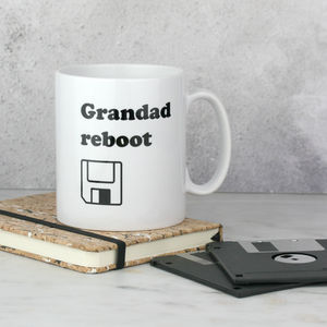 Personalised Reboot Mug For Dads - mugs