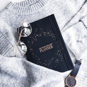 Ceo Of My Own Life® Planner | Undated Weekly | Black - 21st birthday gifts