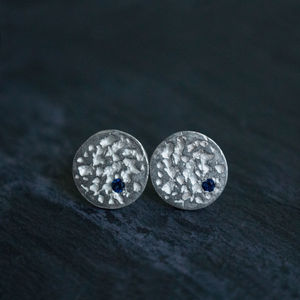Blue Moon Earrings - earrings