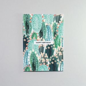 Cacti Greeting Card - birthday cards