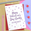 Valentine's Day Card For Daddy