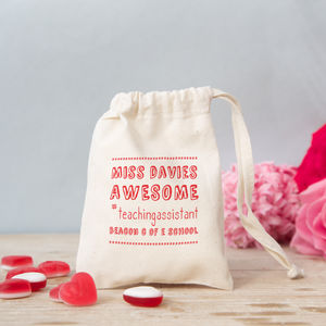 Hashtag Teacher Bag With Sweets - gifts for teachers