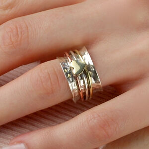 Belle Heart Spinning Ring