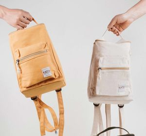 Handmade Canvas Backpack - bags