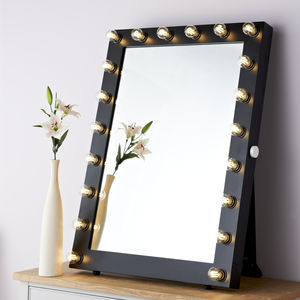 Portrait Hollywood Starlight Mirror - decorative accessories