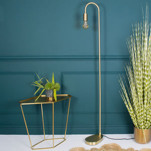 Madison Gold Floor Lamp - floor lamps