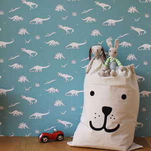 Dinosauria Wallpaper - children's room