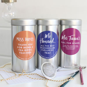Teacher Thank You Tea Gift - tea & infusions