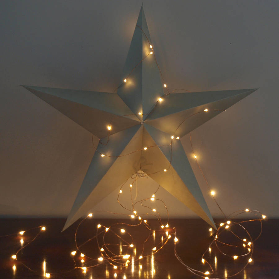 silver string lights by idyll home notonthehighstreet.com