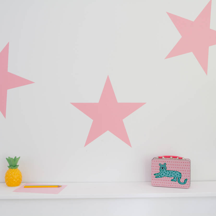 28 personalised stars wall sticker by nutmeg large stars personalised stars wall sticker by nutmeg large stars decorative wall stickers by nutmeg