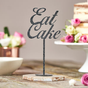 Eat Cake Table Decoration