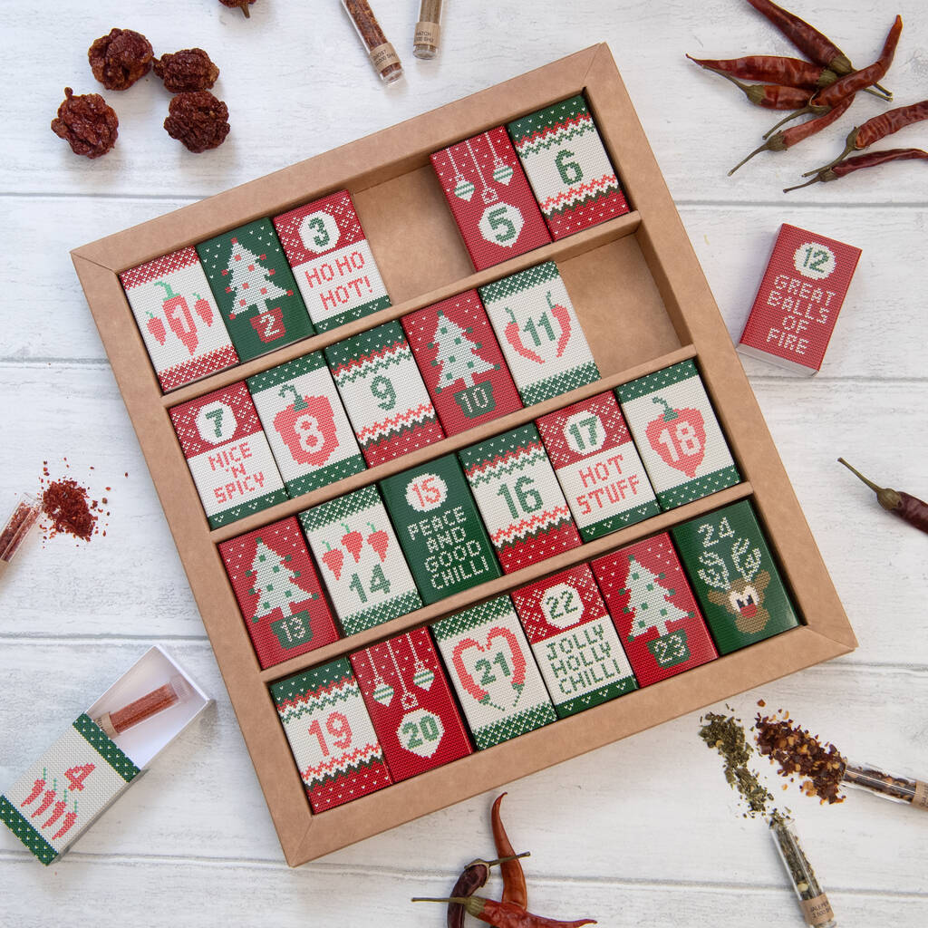 Chilli Advent Calendar by Marvling Bros Ltd.