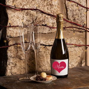 Love Heart 'Mum' Prosecco
