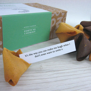 Two Personalised And Ten Mixed Flavour Fortunes
