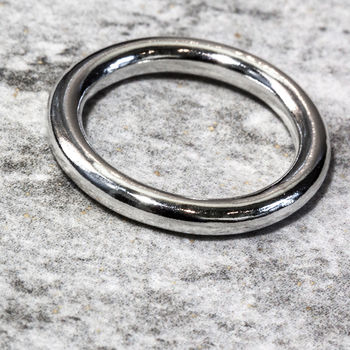 Sterling Silver 3mm Halo Ring