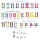 Personalised Welly Boot Family Tree Print
