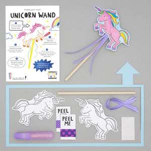 Make Your Own Unicorn Wand Kit - children's parties