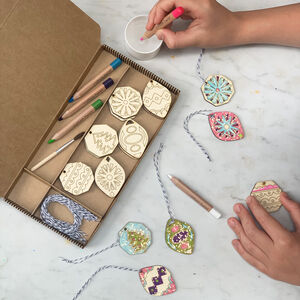 Mindful Christmas Paint Your Own Decorations Kit