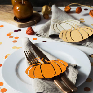Pumpkin Table Decorations