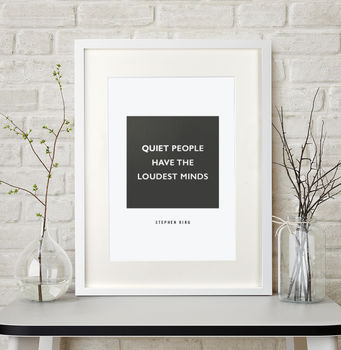 Personalised Favourite Quote Poster