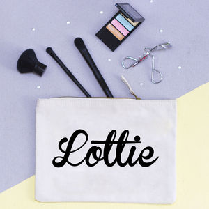 Personalised Secret Message Accessory Pouch