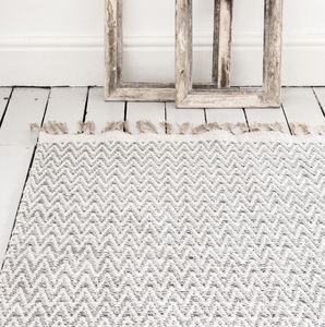 Grey Chevron Rug The Isa