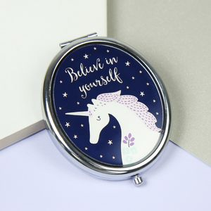 Starlight Unicorn Compact Mirror - whatsnew