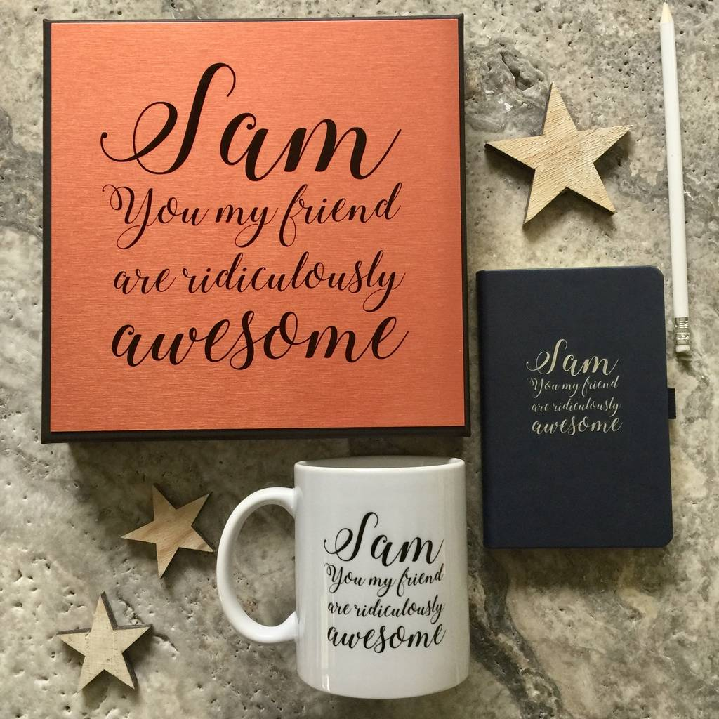 'Awesome Friend' Gift Set