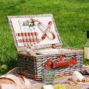 Soanes Luxury Two Person Picnic Hamper Basket