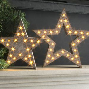 Festive LED Star Decoration - decorative lights