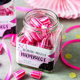 Alcoholic Raspberry Prosecco Humbugs - chocolates & confectionery