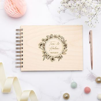 Botanical Wedding Guest Book