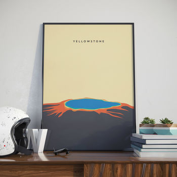 Yellowstone, Print. Poster