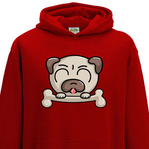 Cute Pug Dog Child Hoodie - jumpers & cardigans