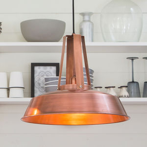 Copper Pendant Light - lighting