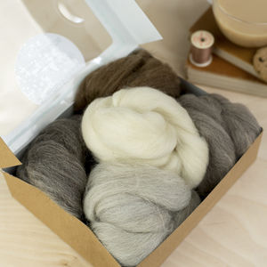 British Breeds Wool Creativity Bundle No.One - creative kits & experiences