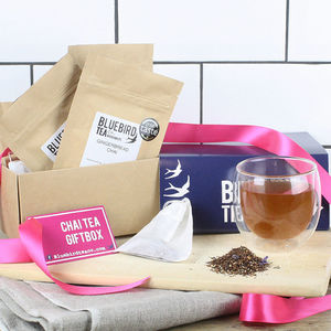 Chai Tea Gift Box - christmas food & drink