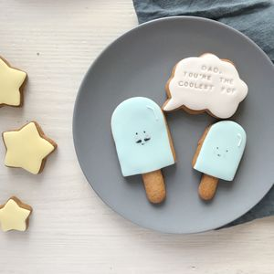 Coolest Pop Father's Day Biscuit Gift Set