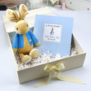 Personalised Peter Rabbit Gift Book And Toy