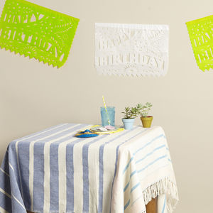Tropical Birthday Bunting From Mexico - children's room accessories