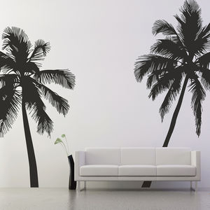 Palm Tree Wall Stickers - decorative accessories