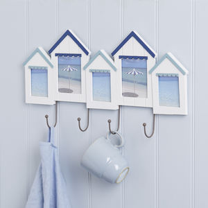Nautical Beach Hut Picture Frame - picture frames