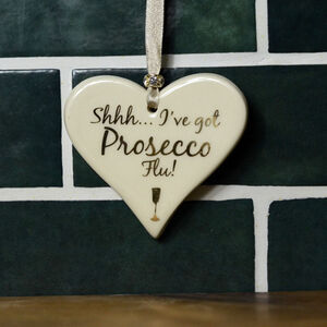 Wine And Prosecco Themed Hearts